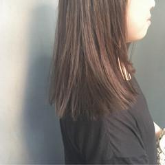 切りっぱなし ストリート 外国人風 暗髪 ヘアスタイルや髪型の写真・画像