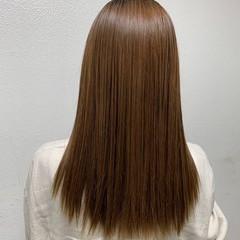 縮毛矯正 愛され 髪質改善トリートメント 艶髪 ヘアスタイルや髪型の写真・画像