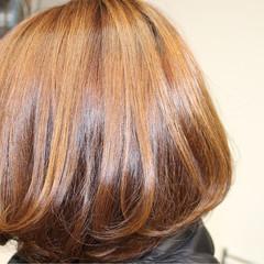 ハイトーン 外国人風 グラデーションカラー ボブ ヘアスタイルや髪型の写真・画像