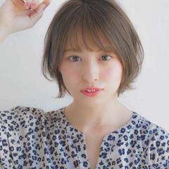 大人かわいい アンニュイほつれヘア パーマ 前髪 ヘアスタイルや髪型の写真・画像