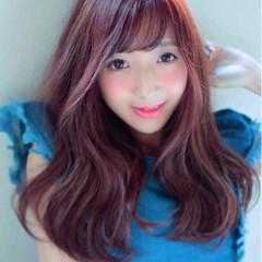 スウィート 愛され かわいい ピンク ヘアスタイルや髪型の写真・画像