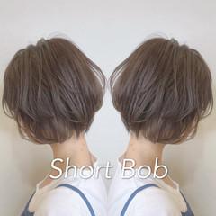 デート ショート 小顔ショート ショートヘア ヘアスタイルや髪型の写真・画像