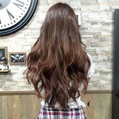 外国人風 ロング エクステ マニッシュ ヘアスタイルや髪型の写真・画像