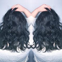 パーマ グラデーションカラー グレージュ ハイライト ヘアスタイルや髪型の写真・画像