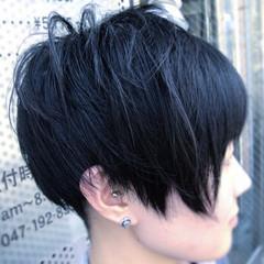 刈り上げ女子 刈り上げショート ショート ショートヘア ヘアスタイルや髪型の写真・画像