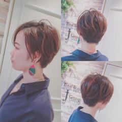 コンサバ ウェットヘア 色気 ショート ヘアスタイルや髪型の写真・画像