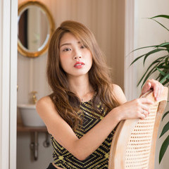ミルクティーグレージュ ロング ミルクティーアッシュ ミルクティーグレー ヘアスタイルや髪型の写真・画像