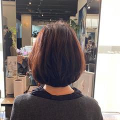 アンニュイほつれヘア フェミニン 抜け感 ボブ ヘアスタイルや髪型の写真・画像