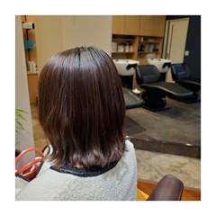 ショコラブラウン ミディアム 大人ミディアム ナチュラル ヘアスタイルや髪型の写真・画像