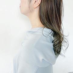 グラデーション ナチュラルグラデーション セミロング ナチュラル ヘアスタイルや髪型の写真・画像