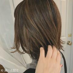 大人かわいい ゆるふわ ハイライト グラデーションカラー ヘアスタイルや髪型の写真・画像