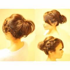 ゆるふわ 三つ編み コンサバ モテ髪 ヘアスタイルや髪型の写真・画像