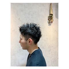 メンズショート メンズ ショート ナチュラル ヘアスタイルや髪型の写真・画像