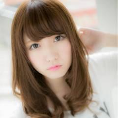 フェミニン かわいい ゆるふわ 愛され ヘアスタイルや髪型の写真・画像