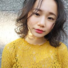 デート アンニュイほつれヘア 大人かわいい フェミニン ヘアスタイルや髪型の写真・画像