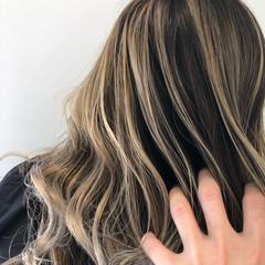 バレイヤージュ 外国人風カラー ブリーチ必須 グラデーションカラー ヘアスタイルや髪型の写真・画像
