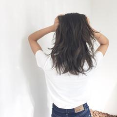 ラフ グラデーションカラー ハイライト 外国人風 ヘアスタイルや髪型の写真・画像