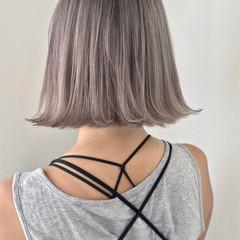 ハイライト ヘアアレンジ 外国人風カラー アッシュ ヘアスタイルや髪型の写真・画像