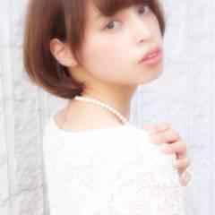モテ髪 ショート コンサバ 大人かわいい ヘアスタイルや髪型の写真・画像