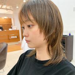 ショート ナチュラル マッシュウルフ ナチュラルウルフ ヘアスタイルや髪型の写真・画像