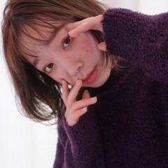 マロン 透明感 ミニボブ ボブヘアー ヘアスタイルや髪型の写真・画像
