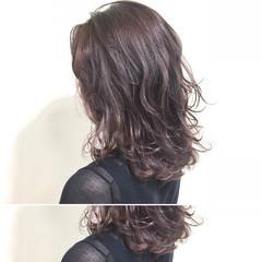 大人かわいい 冬 ミディアム ナチュラル ヘアスタイルや髪型の写真・画像