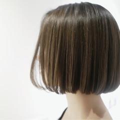 かっこいい ナチュラル 透明感 ボブ ヘアスタイルや髪型の写真・画像