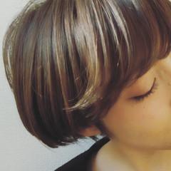 うざバング ナチュラル 大人女子 冬 ヘアスタイルや髪型の写真・画像