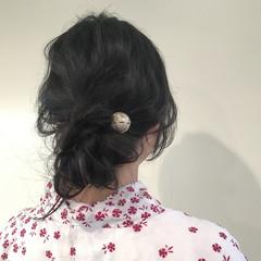 ヘアアレンジ ラフ 簡単ヘアアレンジ ウェーブ ヘアスタイルや髪型の写真・画像