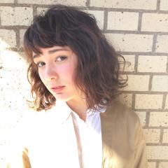小顔 外国人風 ボブ 色気 ヘアスタイルや髪型の写真・画像