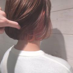 モード ミルクティー 色気 前髪あり ヘアスタイルや髪型の写真・画像