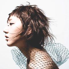 色気 大人女子 ショート アッシュ ヘアスタイルや髪型の写真・画像