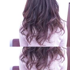 ガーリー ロング フェミニン ゆるふわ ヘアスタイルや髪型の写真・画像