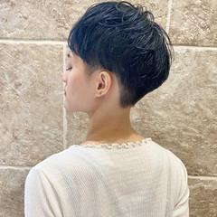 刈り上げ かりあげ ナチュラル 刈り上げショート ヘアスタイルや髪型の写真・画像