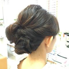 フェミニン 着物 ヘアアレンジ 結婚式 ヘアスタイルや髪型の写真・画像