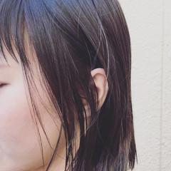 黒髪 ストリート 外国人風 暗髪 ヘアスタイルや髪型の写真・画像