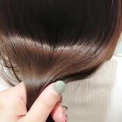 ナチュラル セミロング ナチュラルベージュ 髪質改善トリートメント ヘアスタイルや髪型の写真・画像