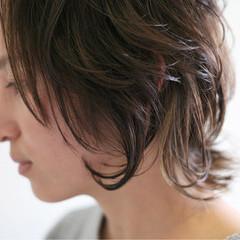 ラフ 伸ばしかけ ハイライト こなれ感 ヘアスタイルや髪型の写真・画像