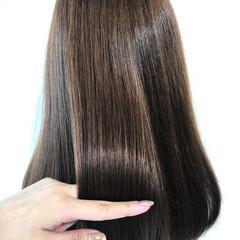 ストレート ナチュラル デート 大人女子 ヘアスタイルや髪型の写真・画像