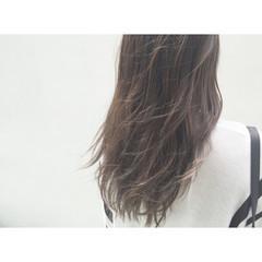 イルミナカラー グラデーションカラー アッシュ ストリート ヘアスタイルや髪型の写真・画像