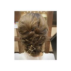 ナチュラル ロング まとめ髪 デート ヘアスタイルや髪型の写真・画像