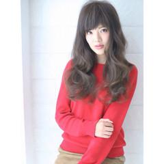 外国人風 フェミニン 暗髪 大人かわいい ヘアスタイルや髪型の写真・画像