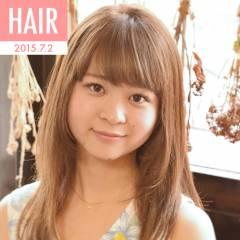 ロング ストリート ガーリー 渋谷系 ヘアスタイルや髪型の写真・画像