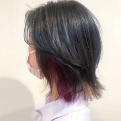 ショートヘア ウルフカット レイヤーカット インナーカラー ヘアスタイルや髪型の写真・画像