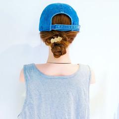 大人かわいい 涼しげ ロング フェミニン ヘアスタイルや髪型の写真・画像