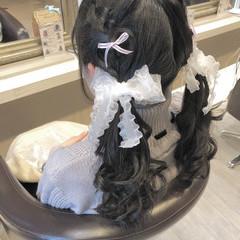 ふんわり ガーリー  ロング ヘアスタイルや髪型の写真・画像