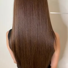 トリートメント 最新トリートメント ナチュラル 美髪矯正 ヘアスタイルや髪型の写真・画像