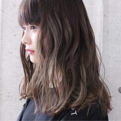 涼しげ 抜け感 アンニュイ ロング ヘアスタイルや髪型の写真・画像