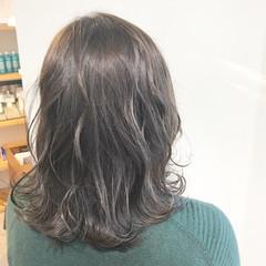 オフィス デート ミディアム 謝恩会 ヘアスタイルや髪型の写真・画像