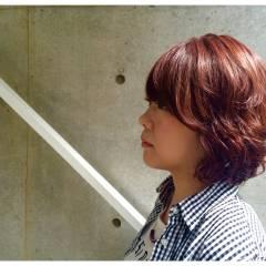 ストリート ボブ トレンド うざバング ヘアスタイルや髪型の写真・画像